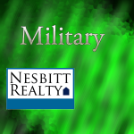 Real Estate services for Military are available by contacting Nesbitt Realty