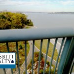 Overlooking Jones Point Park