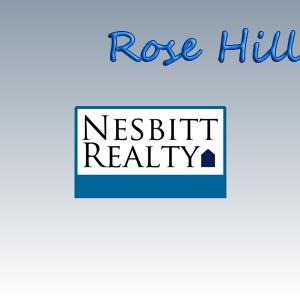 For Rose Hill Real Estate call Nesbitt Realty