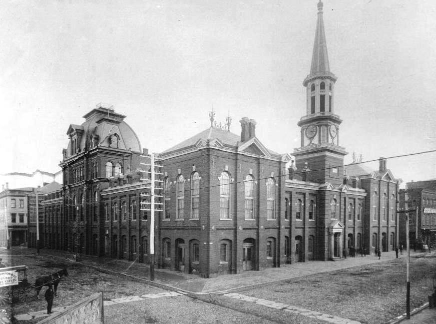 Alexandria City Hall in 1890
