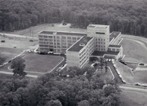 Dewitt Army Hospital, Fort Belvoir when it opened in 1957.