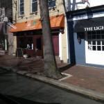 Outside the Light Horse
