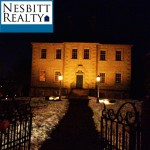 Carlyle House at night