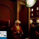 A spooky ghost tour guide tells of history and legend