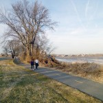 Mount Vernon Trail in March