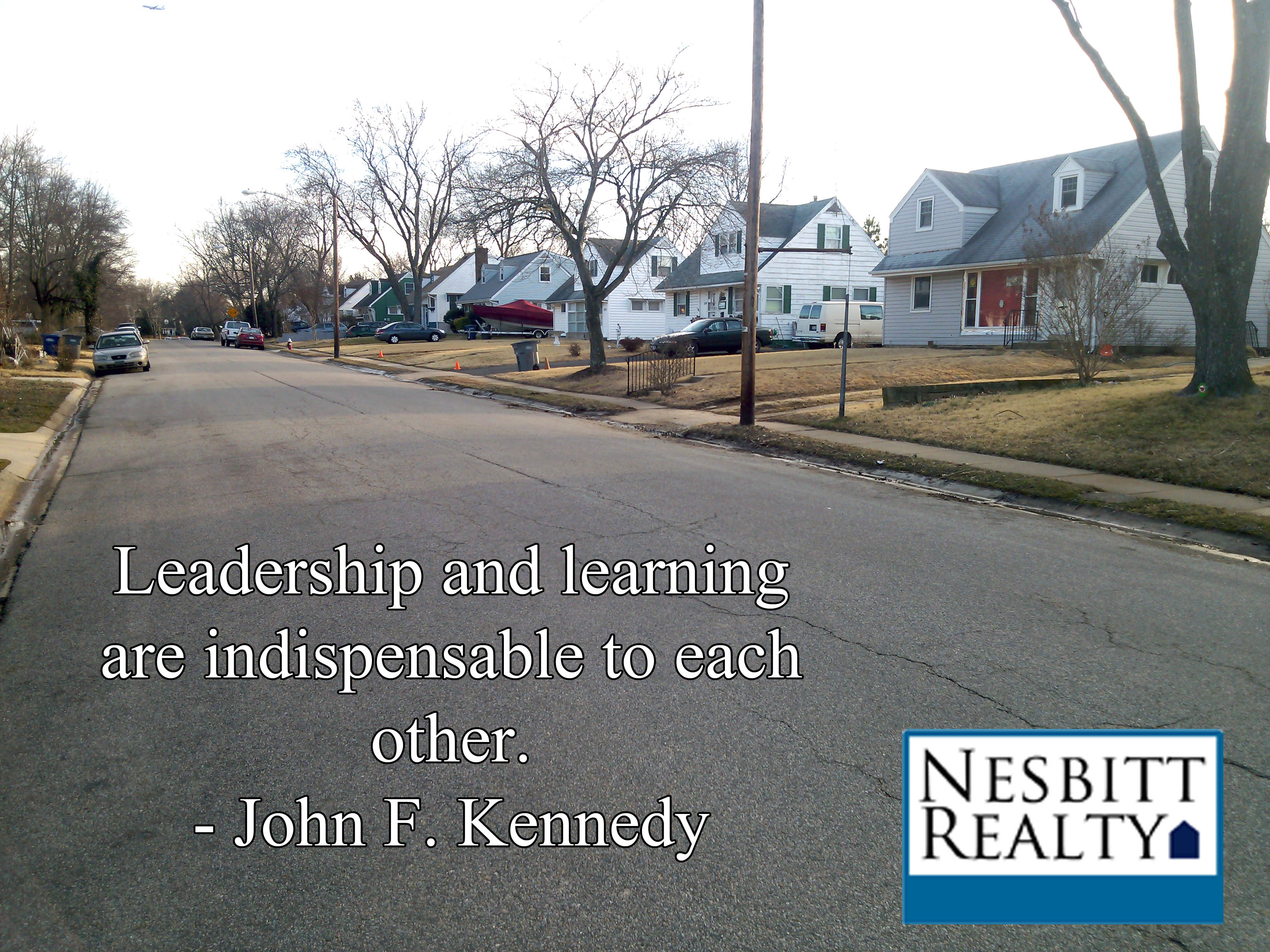 leadership and learning are indispensable to each other essay