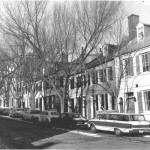 Captain's Row in Alexandria 1963