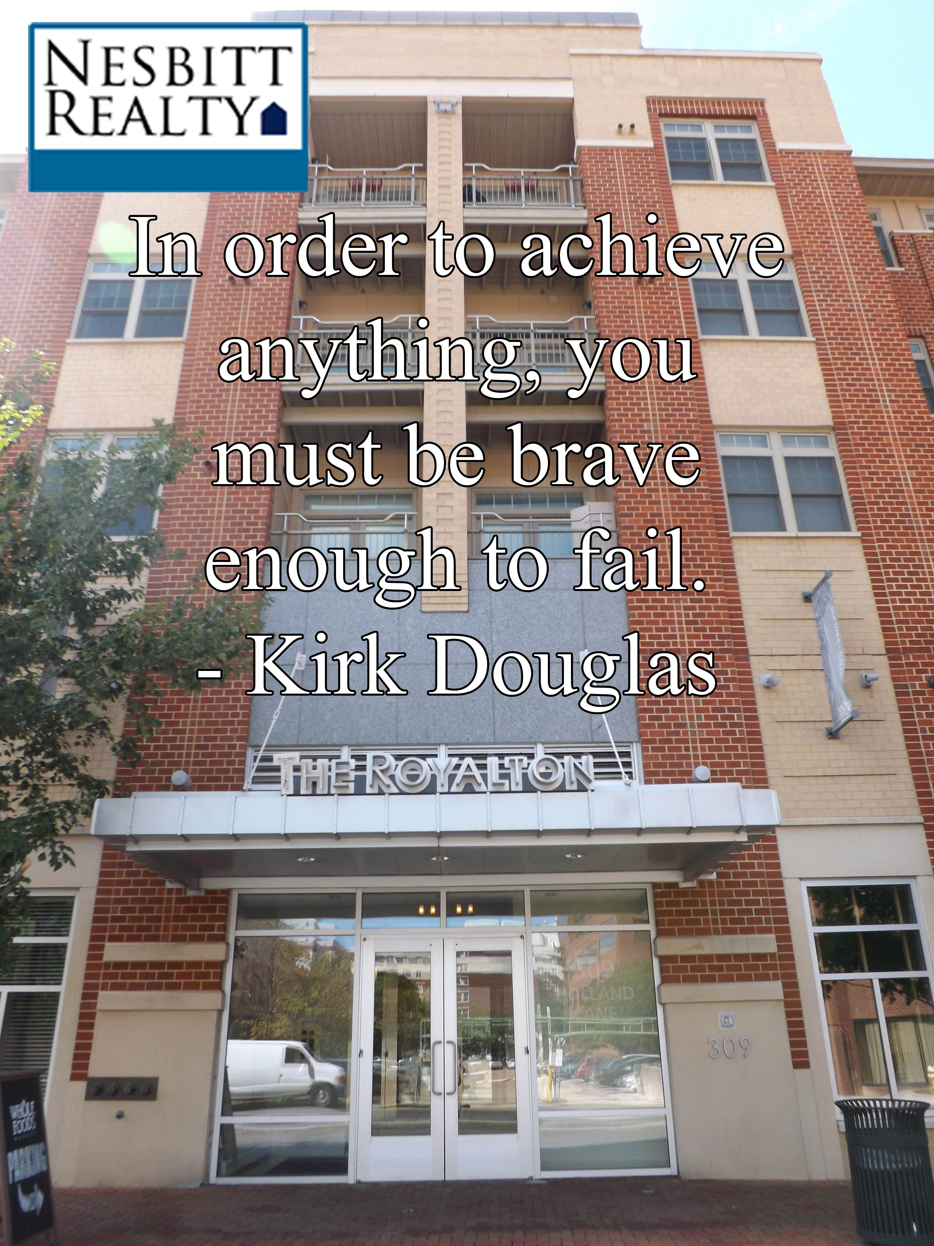 Quote of the Day: Kirk Douglas