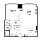 Midtown floor plan