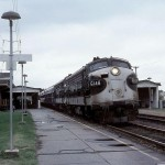 Southbound Piedmont Limited at Alexandria Va.in 1976