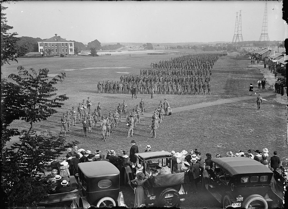 FORT MYER OFFICERS TRAINING CAMP 1917