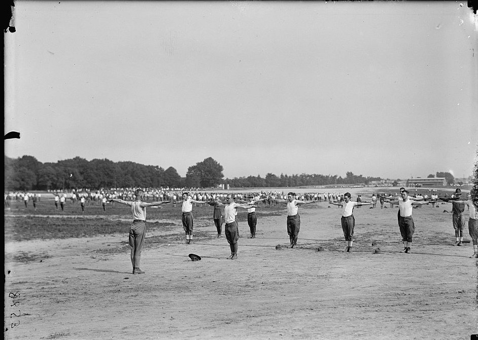 FORT MYER OFFICERS TRAINING CAMP 1917..