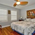 The master bedroom interior