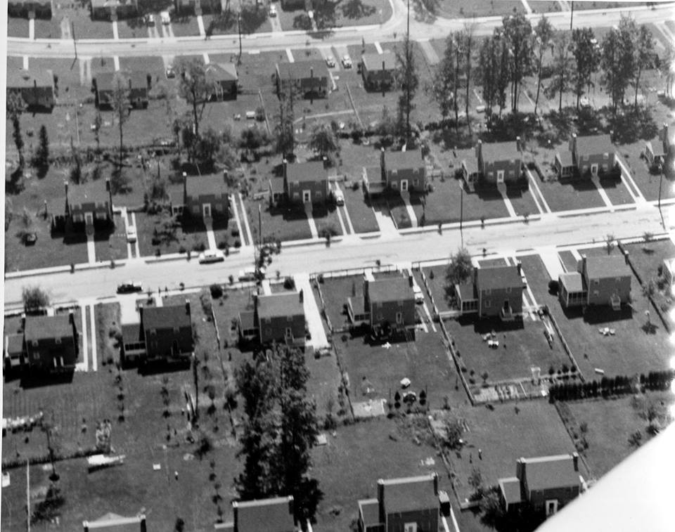 Timber Lane in Falls Church, in 1950
