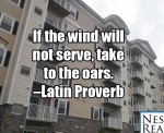 What should you do if the wind will not serve?