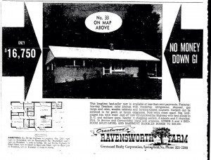 Want to see Crestwood's Ravensworth Farm advertisement, in 1961?