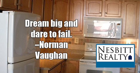 Dream big and dare to fail -Norman Vaughan