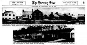1954 Northern VA., Real Estate ads