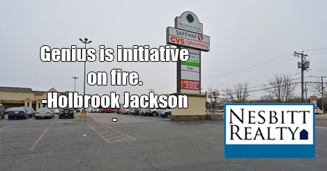 Genius is initiative on fire. -Holbrook Jackson