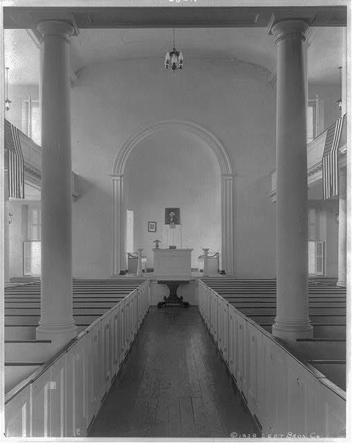 Old Presbyterian meeting house, erected 1774, Alexandria, Virginia 1928