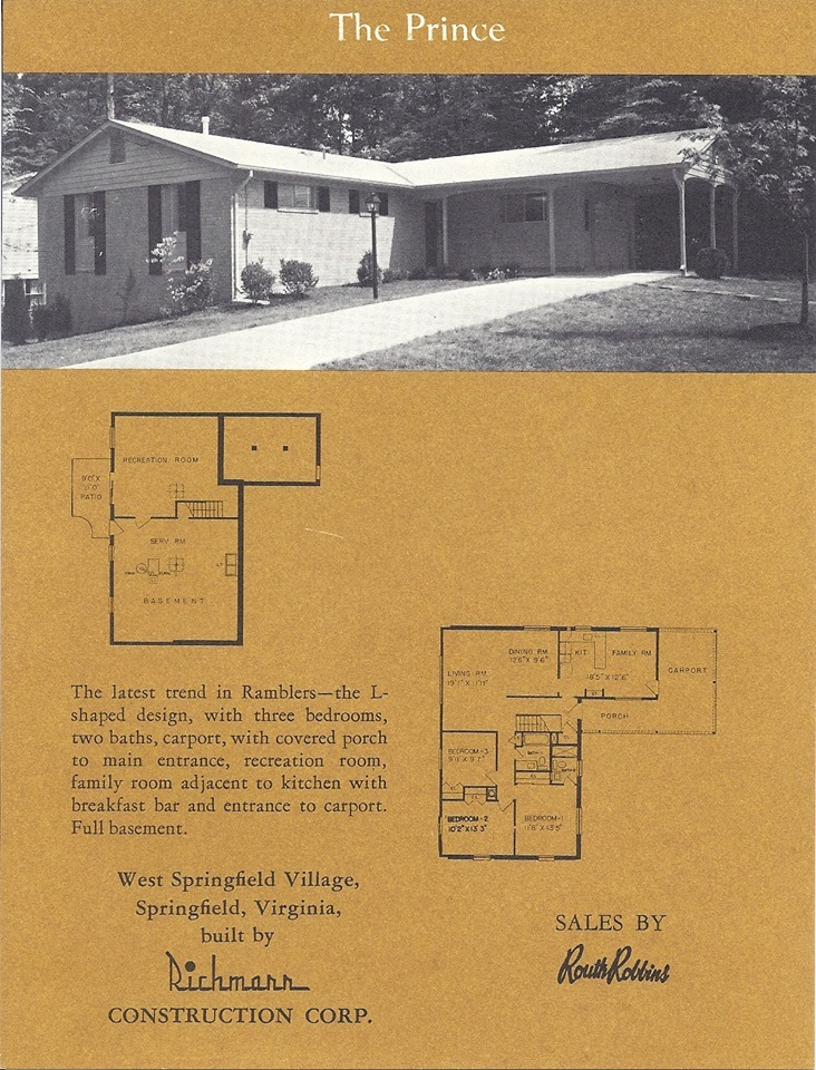 1967 West Springfield Village, built after Kings Park
