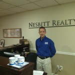 Kelly Nesbitt at the office