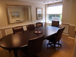 Inside the meeting room