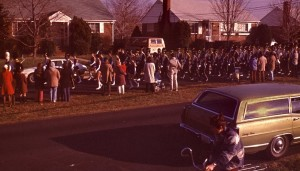 Lee High School march, in the Seventies
