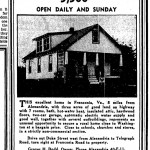 $5,500 listing for a property in 1936