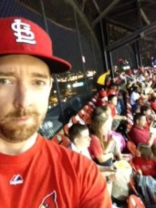 K Michael Nesbitt at the game