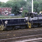 RF&P 6 on the southside of Potomac Yard, September 1988