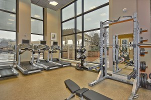 Midtown Alexandria's Fitness Room