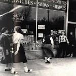 1950 soda shop Mount Vernon and East Luray Ave, Alexandria, VA