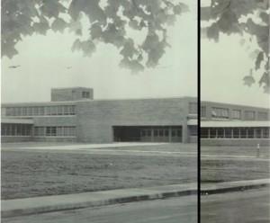 Edison High School in 1963