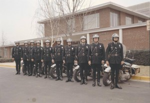 1970s Motor Officers.