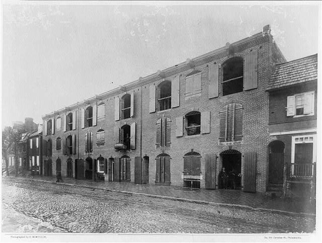Queen Street warehouse, Alexandria, Va.1860