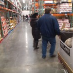 Will Nesbitt and Julie Nesbitt approach that last frozen aisle, with tea and coffee on the same aisle