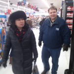 Will Nesbitt and Julie Nesbitt get Aubrey Nesbitt toilet paper at Wal-Mart