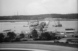 1928 Photo of Arlington Memorial Bridge Construction