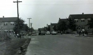 800 block of North Alfred in the 1960s