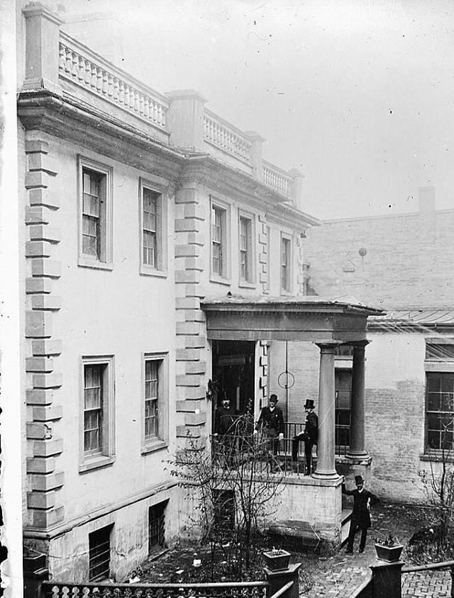 Carlyle House, Alexandria, Virginia 1918