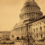 Rare, 1863 Photo of Capitol Building