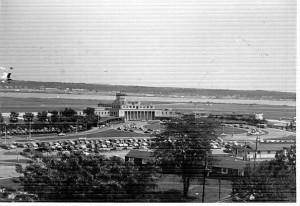 Washington National Airport around 1949