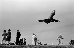 Watching the airplanes land 1983