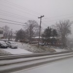 Belle View Boulevard snowed