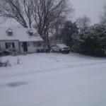 Bucknell Manor snow in winter