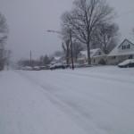 winter in Bucknell Manor