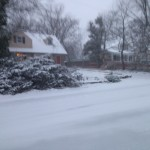 Winter in Bucknell Manor on Cavalier Drive