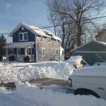 shoveled driveway in New Alexandria