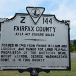 Formed from Loudon and Prince William Counties and named for Lord Fairfax